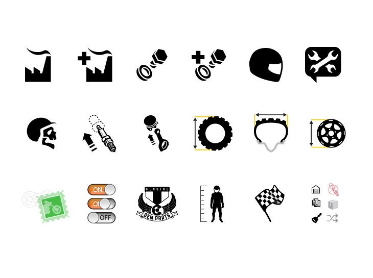 CheapCycleParts.com Icon Set