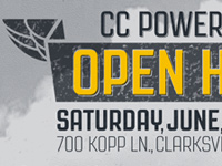 CC Powersports Open House Poster