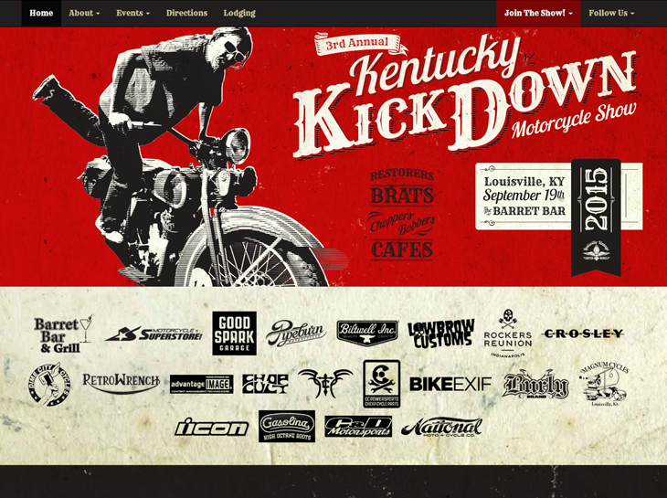 Kentucky Kick Down Website Design